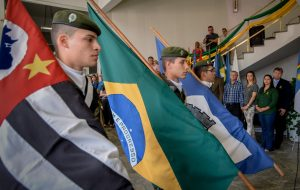 Ato cívico marca o 7 de  Setembro em Rio Claro