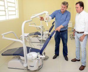 Saúde realiza mudanças para o novo Centro de Especialidades Odontológicas