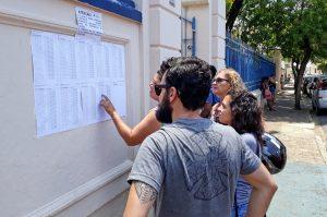 Saúde divulga gabaritos de concurso que teve 77% de presença