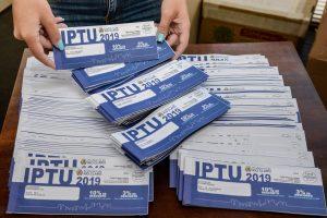 Prazo para pagar IPTU em dia termina na quarta-feira da semana que vem