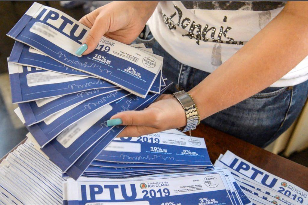 Último dia para desconto de 10% no IPTU de Rio Claro