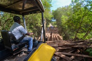 Prefeitura reforça alerta sobre obra em ponte no distrito de Ajapi