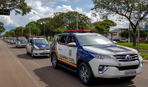 Prefeitura faz renovação total da frota da Guarda Municipal com 19 veículos