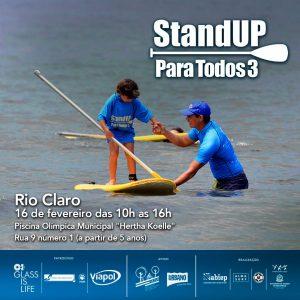 Rio Claro recebe o Projeto Stand Up para Todos