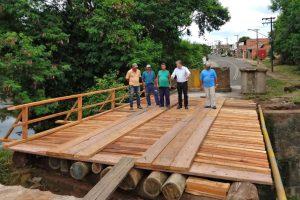 Obras da nova ponte avançam no Jardim Novo