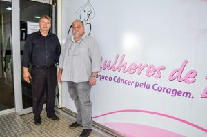 Carreta da mamografia já  está no Espaço Mais Saúde