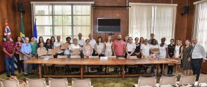 Prefeito dá posse a novos membros do Conselho do Idoso de Rio Claro