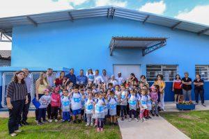 Escola João Rehder comemora ampliação após anos de espera